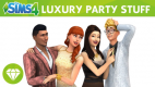 The Sims 4 Luxury Party Stuff