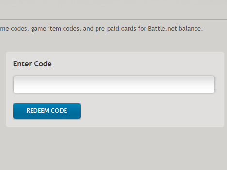 How do I redeem my game on Blizzard Battle.Net?